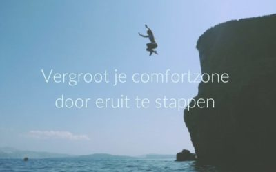 Vergroot intentioneel je comfortzone